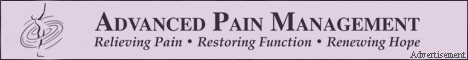 Advanced Pain Management - Relieving Pain - Restoring Function - Renewing Hope