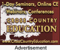 Earn CE at conferences, one day seminars, and more!